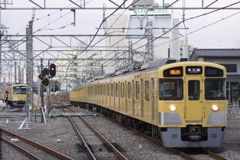 2011年2月19日、所沢、2523F+2027Fの2605レ。
