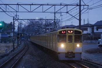 2011年2月20日、元加治、2087Fの2108レ。