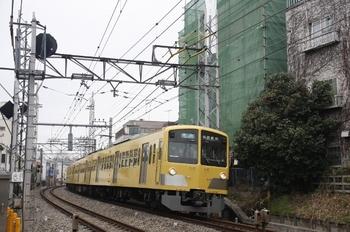 2011年1月20日、中井~新井薬師前、1301F+285Fの4614レ。