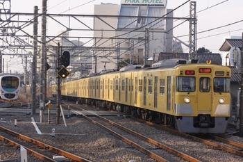 2011年2月27日、所沢、2011F+2539Fの2607レ。