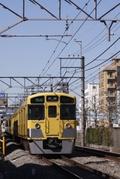2011年3月5日、高田馬場~下落合、2511F+2515Fの4301レ。