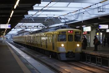 2011年3月9日 6時10分頃、所沢、2419F+2509Fの上り回送列車。