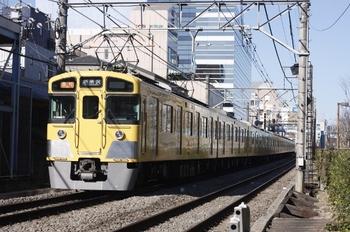 2011年3月10日、高田馬場~下落合、2451F+2065Fの2805レ。
