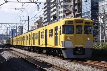 2011年3月10日、高田馬場~西武新宿、2003F+2411Fの2640レ。