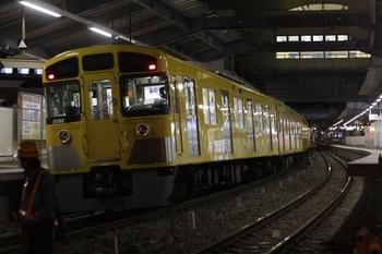 2011年3月11日 20時20分頃、江古田、下りホームに留置の2079F。