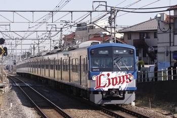2011年3月18日 14時30分ころ、秋津、3015Fの各停 飯能ゆき。