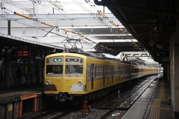 2011年3月21日 14時45分頃、所沢、発車した271F+1303Fの準急 池袋ゆき。