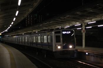 2011年3月23日 20時18分頃、入間市、6109Fの各停 小手指ゆき。
