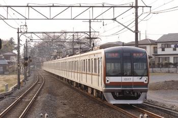 2011年4月2日 16時22分頃、元加治、メトロ10017Fの各停 新木場ゆき。