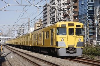 2011年4月6日、高田馬場~下落合、2401F+2001Fの4608レ。