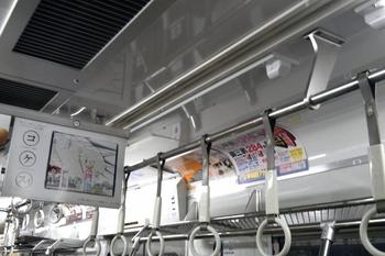 2011年4月21日 夜、モハ2377の車内。