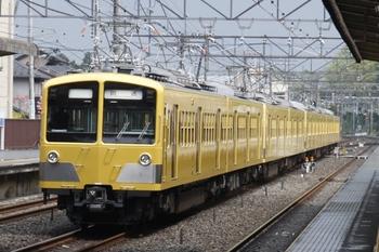 2011年4月25日 12時28分頃、仏子、中線から発車した281F+285F+1241Fの上り回送。