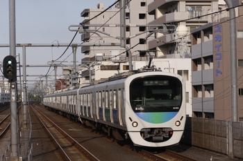 2011年4月25日、中村橋、32103F+38105Fの準急 飯能ゆき(4143レ)。