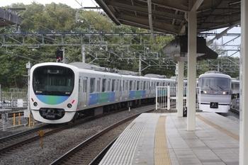 2011年5月1日 16時0分頃、入間市、通過した38107Fの上り回送列車。