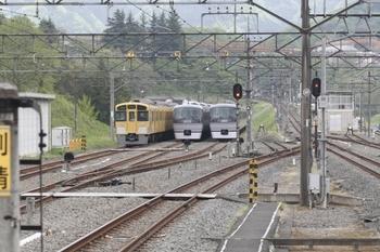 2011年5月7日 13時前、横瀬、電留線。