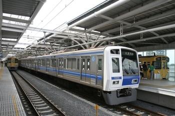 2011年5月31日 、石神井公園、6109Fの試運転列車(78M運用)。