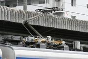 2011年5月5日、モハ20852の集電装置