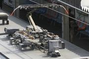 2011年6月4日、モハ38608の集電装置