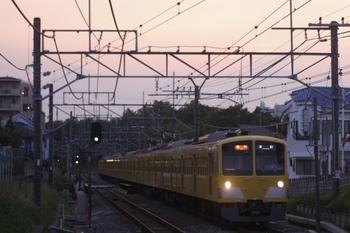 2011年6月7日、秋津、1309F+287Fの2168レ。