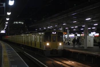2011年6月9日 19時28分頃、所沢、2055Fの池袋線・上り回送列車。