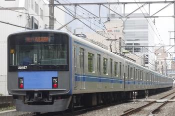 2011年6月19日、高田馬場~下落合、20157Fの2105レ。