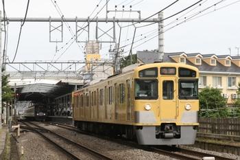 2011年6月24日、ひばりが丘、発車した2097Fほかの4856レ。