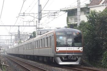 2011年6月28日、池袋~椎名町、メトロ10012Fの準急 池袋ゆき(93S運用)