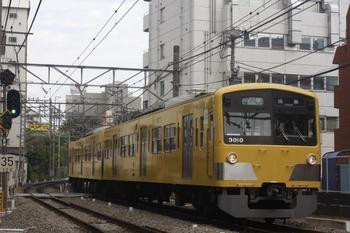 2011年7月5日、高田馬場~下落合、田無ゆき5269レ(?)の3009F。