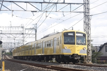 2011年7月5日 6時41分頃、西所沢~小手指、1241Fの上り回送列車。