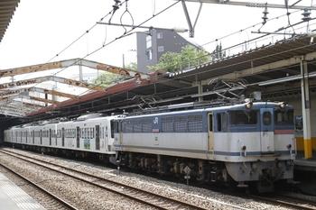 2011年7月9日、新秋津、EF65-1069+西武1247F。
