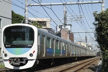 2011年7月16日、池袋~椎名町、38103Fの1007レ。