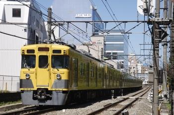 2011年7月17日、高田馬場~下落合、2419F+2021Fの2101レ。