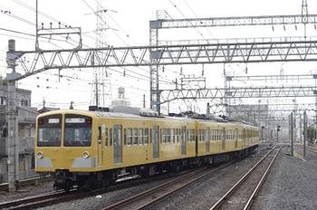 2011年7月20日 6時39分頃、小手指、発車した1241Fの上り回送列車。
