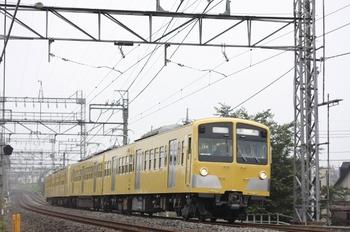 2011年7月29日6時41分頃、西所沢、到着する281F+285Fの上り回送列車。