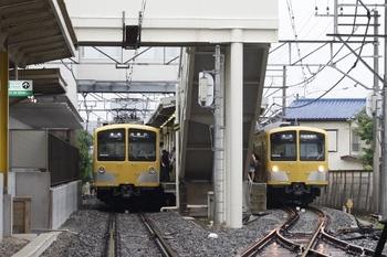 2011年7月28日 6時53分頃、下山口、N101系が並びました