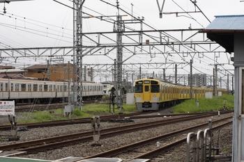 2011年7月31日 朝7時ころ、所沢、電留線の2503F+2501F。