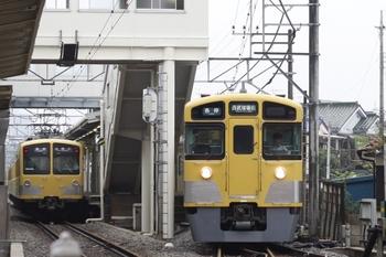 2011年8月1日、下山口、左が285F+281Fの6108レ。