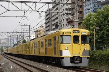 2011年8月2日、高田馬場~下落合、2015F+2523Fの2754レ。