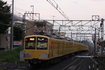2011年8月4日、秋津、287F+1309Fの2168レ。