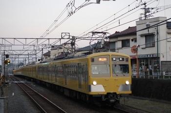 2011年8月10日、秋津、271F+1303Fの2155レ。