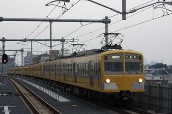 2011年8月11日、石神井公園、271F+1303Fの4865レ。