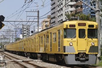 2011年8月28日、高田馬場~下落合、2417F+2055Fの2632レ。
