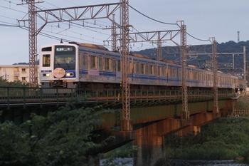 2011年8月28日、仏子~元加治、6157Fの4139レ。