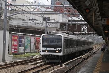 2011年9月3日 12時8分頃、高田馬場、MUE-Train。