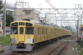 2011年9月4日、秋津、4378レの9101F。