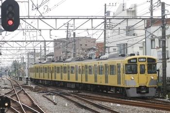 2011年9月11日 11時1分頃、小平、2539Fの上り回送列車。