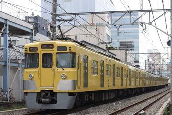 2011年9月16日、高田馬場~下落合、2411F+2045Fの5319レ。