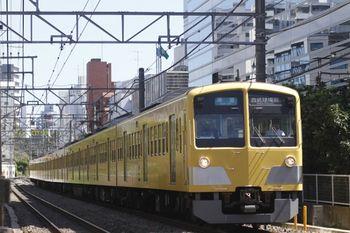 2011年9月18日、高田馬場~下落合、1311Fの7601レ。