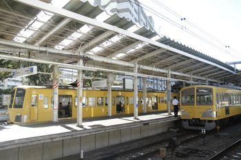 2011年9月18日、萩山、263Fと1261Fの並び。