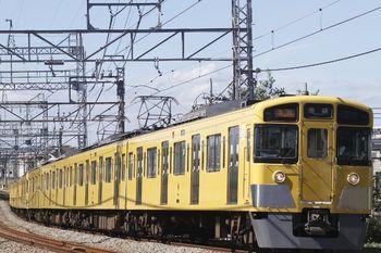 2011年9月18日、西所沢、2501F+2503Fの2152レ。